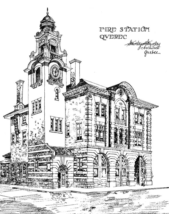 1904 – Fire Station, Quebec