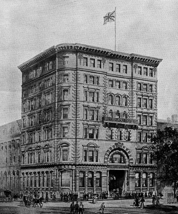 1902 &#8211; Royal Life Insurance, Montreal, Quebec