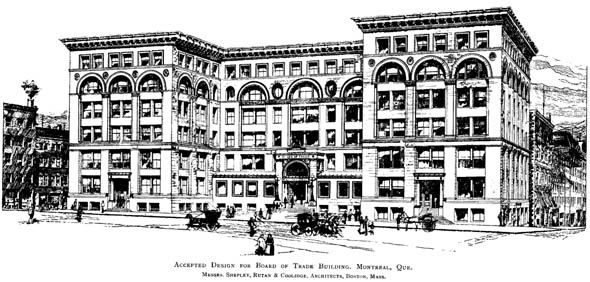 1891 – Board of Trade, Montreal, Quebec