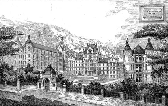 1890 – Royal Victoria Hospital, Montreal, Quebec