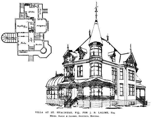 1890 &#8211; Villa at St. Hyacinthe, Quebec