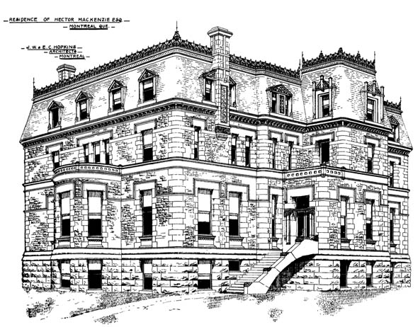 1892 &#8211; Residence, Montreal, Quebec
