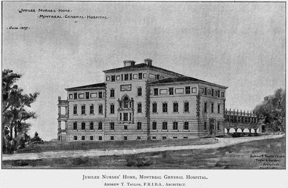 1897 &#8211; Jubilee Nurses Home, Montreal, Quebec