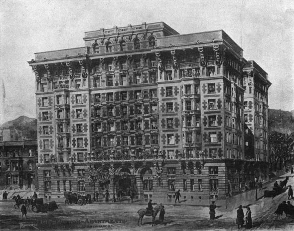 1906 &#8211; Linton Apartments, Montreal, Quebec