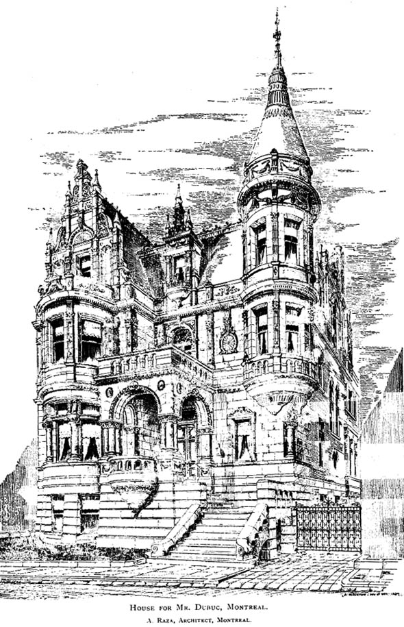 1894 &#8211; House, Montreal, Quebec