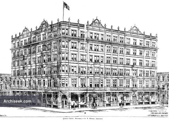 1893 – Queen's Hotel, Montreal, Quebec