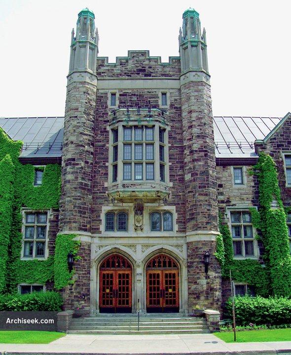 1924 – Victoria Hall Community Centre, Westmount, Montreal, Quebec