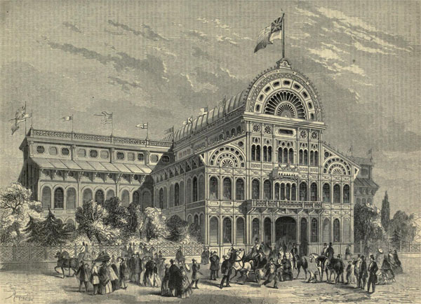 1861 – Provincial Exhibition Buildings & Museum, Montreal, Quebec