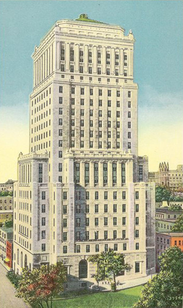 1929 – Bell Telephone Building, Montreal, Quebec