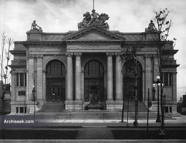 1916  – Public Baths, Maisonneuve, Montreal