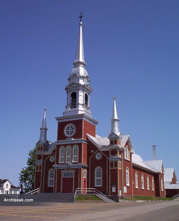 1898 – Eglise de Saint Fabien, Quebec