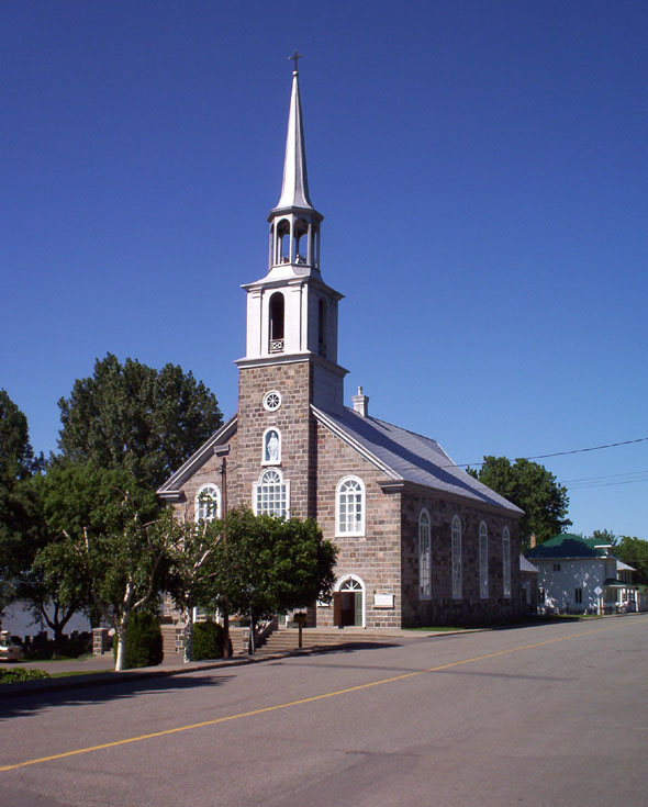 1859 &#8211; Eglise Notre Dame du Portage, Quebec