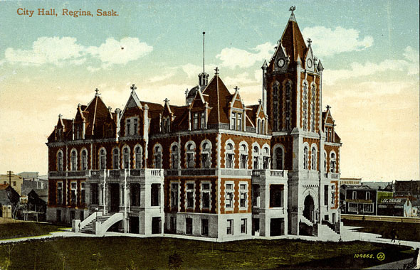 1908 &#8211; City Hall, Regina, Saskatchewan