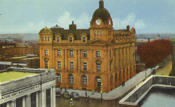 1914 &#8211; City Hall, Moose Jaw, Saskatchewan