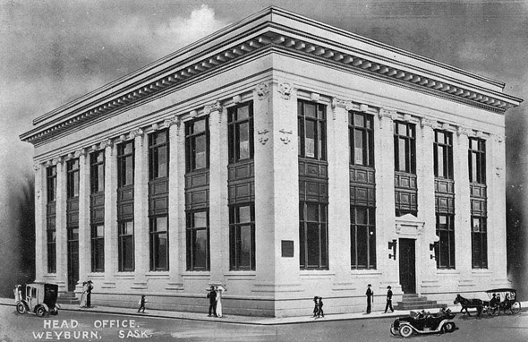 1910 – Weyburn Security Bank, Weyburn, Saskatchewan