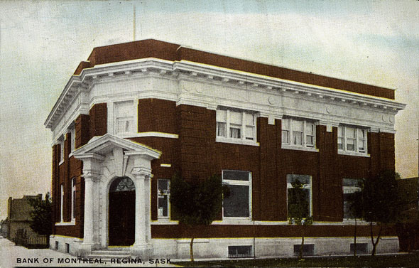 1905 – Bank of Montreal, Regina, Saskatchewan