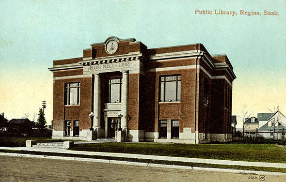 1912 &#8211; Public library, Regina, Saskatchewan
