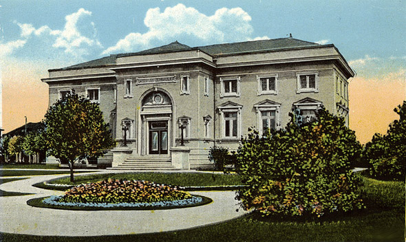 1913 – Library, Moose Jaw, Saskatchewan