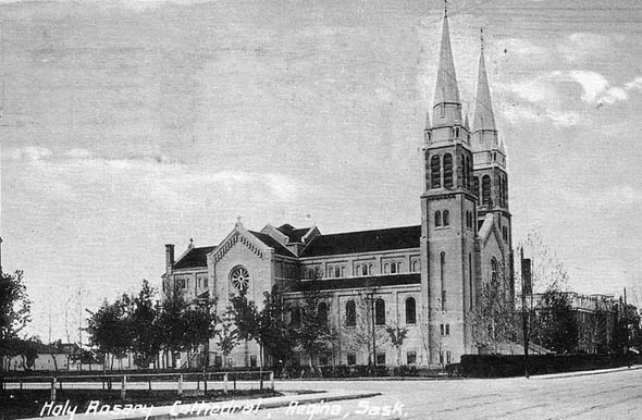1913 &#8211; Holy Rosary Cathedral, Regina, Saskatchewan