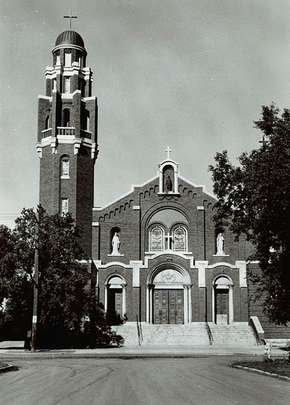 1914 – Sacred Heart Cathedral, Prince Albert, Saskatchewan