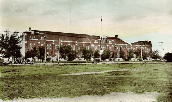 1928 &#8211; Regina Armoury, Saskatchewan