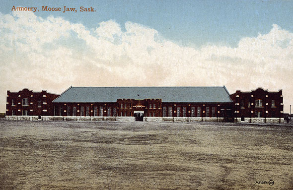 1928 &#8211; LCol D.V. Currie VC Armoury, Moose Jaw, Saskatchewan