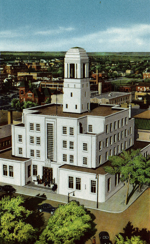 1937 &#8211; Federal Building, Regina, Saskatchewan