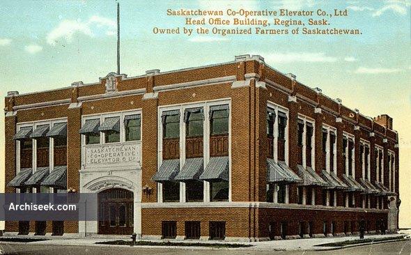 1914 – Saskatchewan Revenue Building, Regina, Saskatchewan