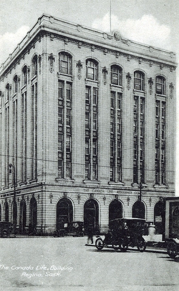 1914 &#8211; Canada Life Building, Regina, Saskatchewan