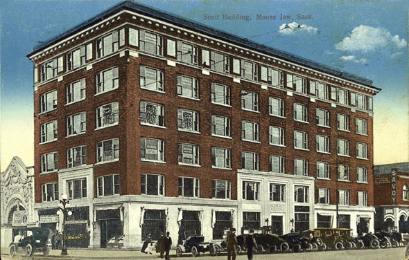 1911 – Walter Scott building, Moose Jaw, Saskatchewan