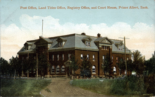 1905 &#8211; Federal Building, Prince Albert, Saskatchewan