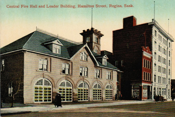1921 &#8211; Central Fire Hall, Regina, Saskatchewan
