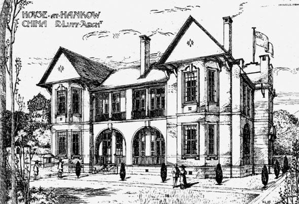 1910 – House at Hankow, China