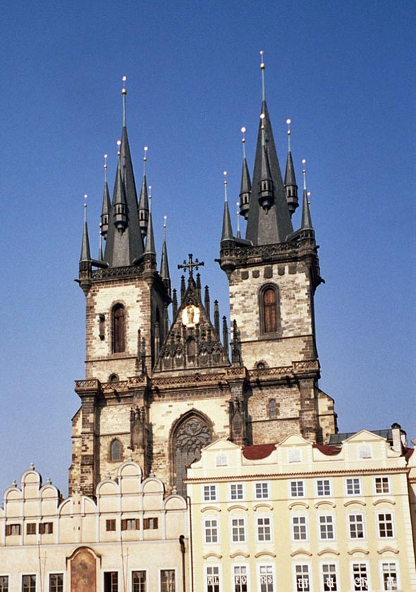1385 – Church of Our Lady Before Tyn, Prague, Czech Republic