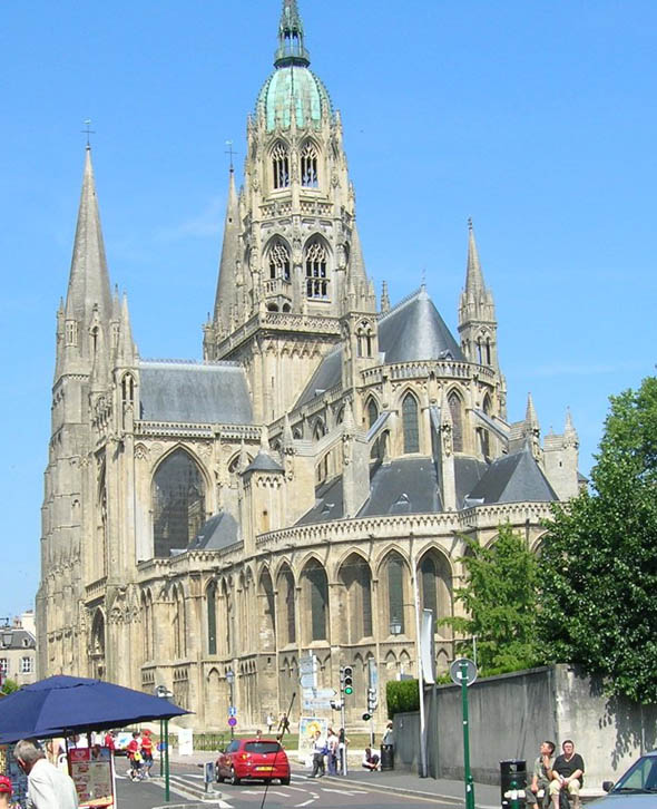 1077 &#8211; Bayeux Cathedral, Basse-Normandie, France