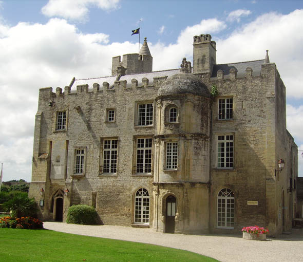Chateau de Creully, Basse-Normandie, France