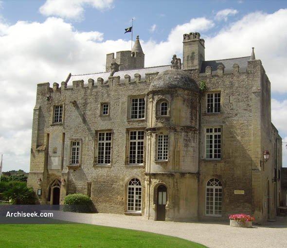 1472 – Chateau de Creully, Basse-Normandie, France