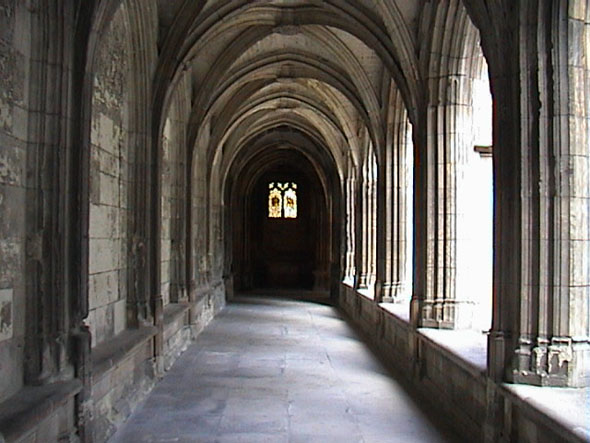 Cloister de La Psalette, Tours, Indre-et-Loire, France