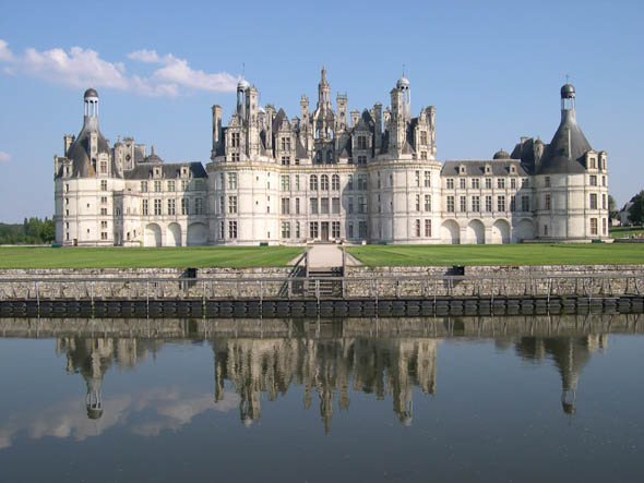 Chateau de Chambord, Loir-et-Cher, France