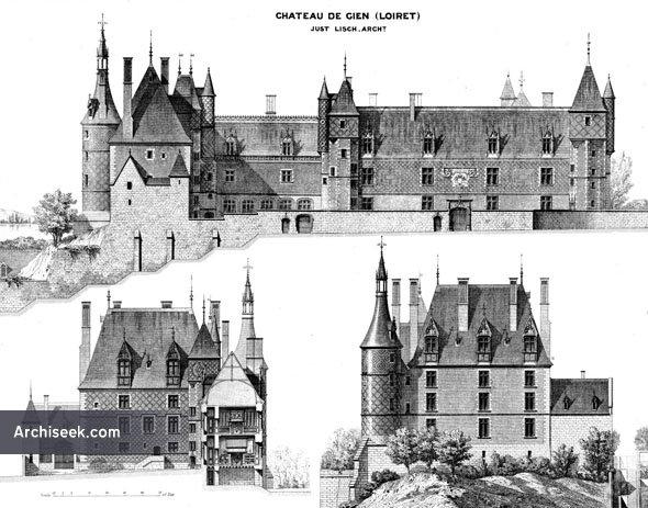 1490s – Chateau de Gien, Loiret, France