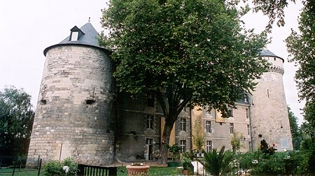 Chateau de Tours, Tours, Indre-et-Loire, France