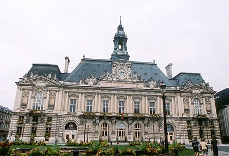 1904 &#8211; Hotel de Ville, Tours, Indre-et-Loire, France