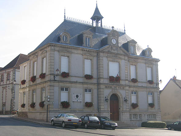 Montmirail Townhall, Champagne-Ardenne, France