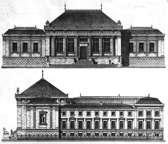 1875 &#8211; Palais de Justice, Le Havre, Haute-Normandie, France