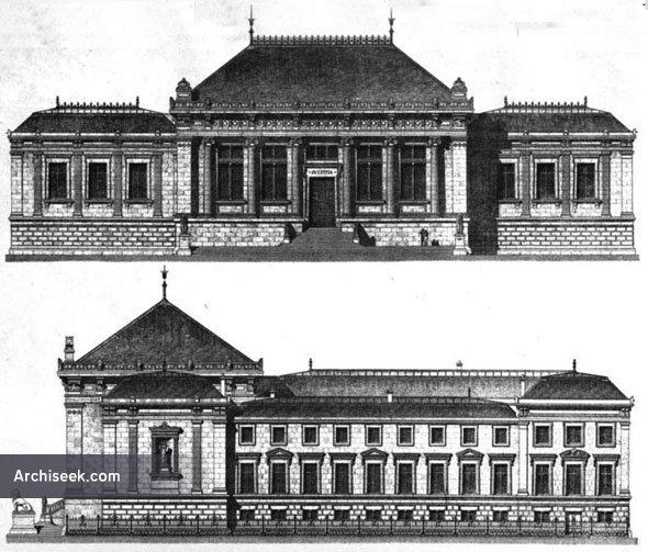 1875 palais de justice le havre haute normandie france archiseek irish architecture. Black Bedroom Furniture Sets. Home Design Ideas