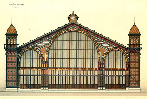 1880 – Railway Station, Le Havre, France