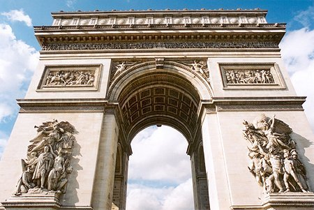 1836 – Arc de Triomphe, Paris
