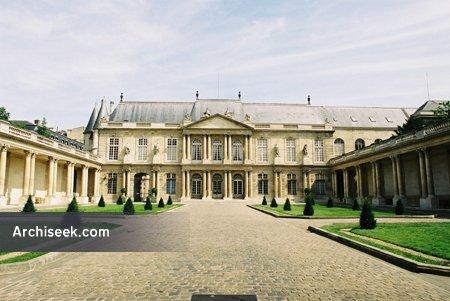 1709 – Hôtel de Soubise, Paris