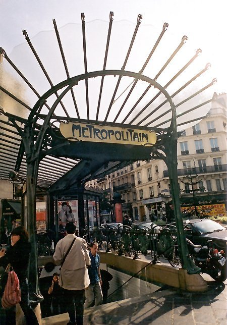 1899 – Metro Stations, Paris
