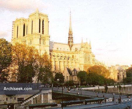 1330 – Notre Dame Cathedral, Paris